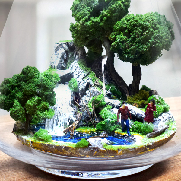 Düşler Bahçesi - Teraryum Minyatür Bahçe