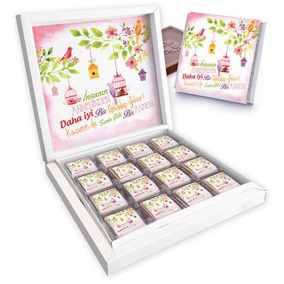 - Duygusal Mesajlı Anneler Günü Çikolatası