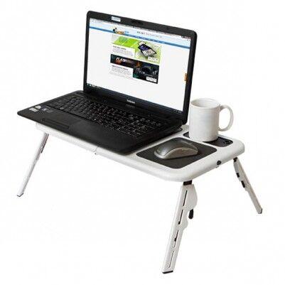 E-Table Portatif Soğutuculu Laptop Masası - Thumbnail