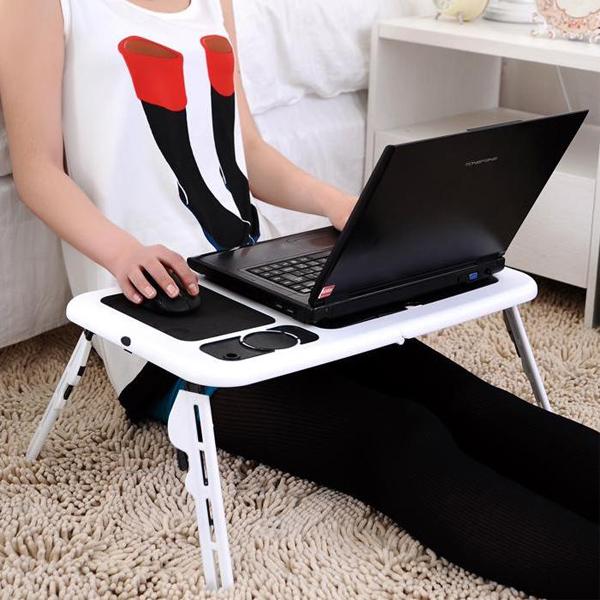 E-Table Portatif Soğutuculu Laptop Masası