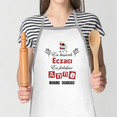 - Eczacı Annelere Özel Mutfak Önlüğü