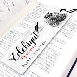 Edebiyat Öğretmenine Özel Kitap Ayracı - Thumbnail
