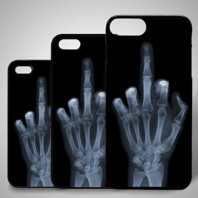 - Edepsiz Parmak iPhone Telefon Kapağı
