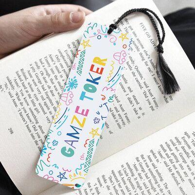 Eğlenceli Tasarımlı Kitap Okuma Ayracı - Thumbnail