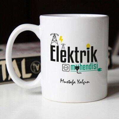 Elektrik Mühendisine Hediye Kupa Bardak - Thumbnail
