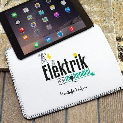 - Elektrik Mühendisine Özel Tablet Kılıfı