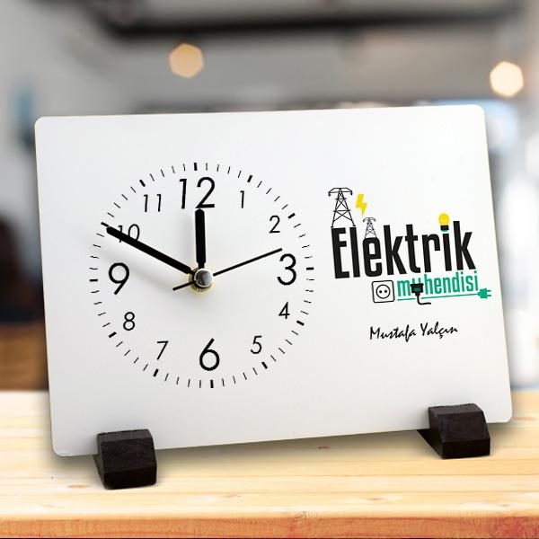 Elektrik Mühendislerine Özel Masa Saati