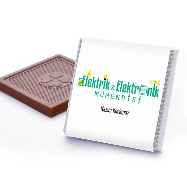 Elektronik Mühendisine Hediye Kutu Çikolata