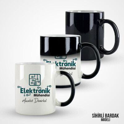 Elektronik Mühendislerine Özel Kupa Bardak - Thumbnail