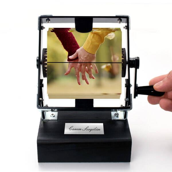 Elele Sevgililer Gif Film Makinesi