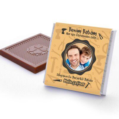Elinden Her İş Gelen Baba Çikolatası - Thumbnail