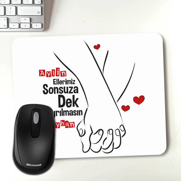 Ellerimiz Hiç Ayrılmasın Mousepad