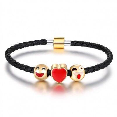 - Emoji Aşk Bilekliği - ML45