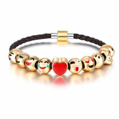 Emoji Aşk Şansı Bilekliği ML36 - Thumbnail