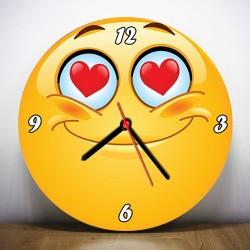 Emoji Tasarımlı Duvar Saatleri - Thumbnail