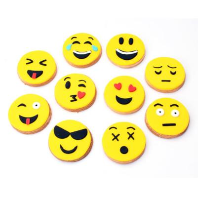 Emoji Tasarımlı Sempatik Butik Kurabiyeler - Thumbnail
