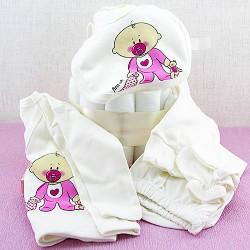 Emzikli Bebek Bezi Pastası Hediye Sepeti - Thumbnail