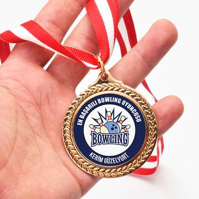 - En Başarılı Bowling Oyuncusu Madalyon