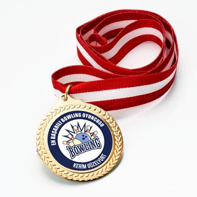 En Başarılı Bowling Oyuncusu Madalyon - Thumbnail