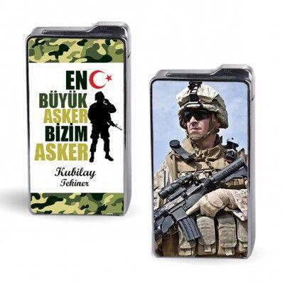 En Büyük Asker Bizim Asker Fotoğraflı Çakmak - Thumbnail