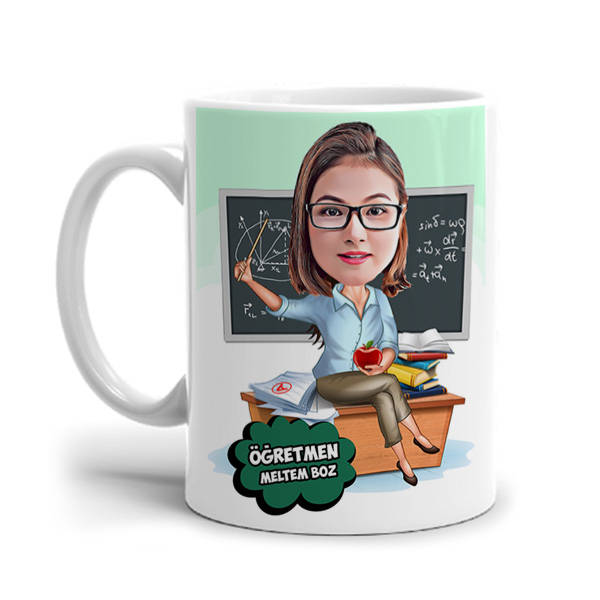 En Güzel Matematik Öğretmeni Kupa Bardak