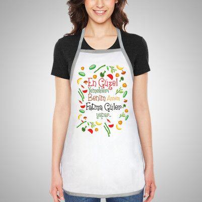 - En Güzel Yemekleri Annem Yapar Önlüğü