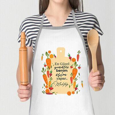 - En Güzel Yemekleri Eşim Yapar Mutfak Önlüğü