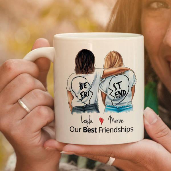 En İyi Arkadaşım İsimli Kupa Bardağı
