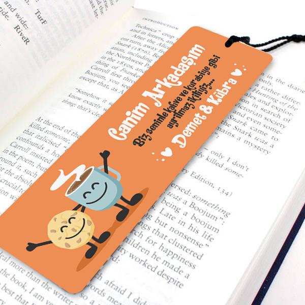 En İyi Arkadaşım Kitap Okuma Ayracı