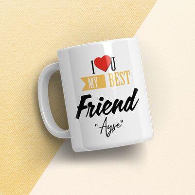 En İyi Arkadaşım Konsept Hediye Kutusu - Thumbnail