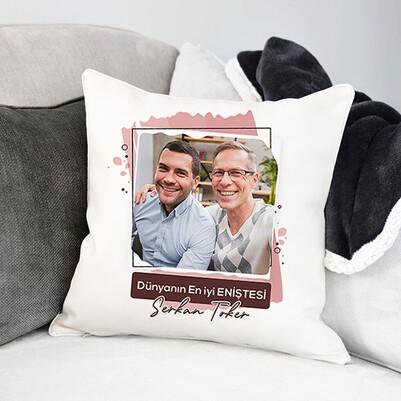 - En İyi Enişte Fotoğraflı Yastık
