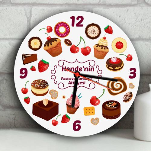 En İyi Pasta Ustası Duvar Saati
