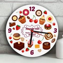 - En İyi Pasta Ustası Duvar Saati