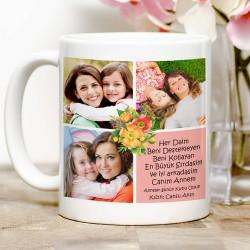 En İyi Sırdaşım Canım Annem Kupa Bardak - Thumbnail