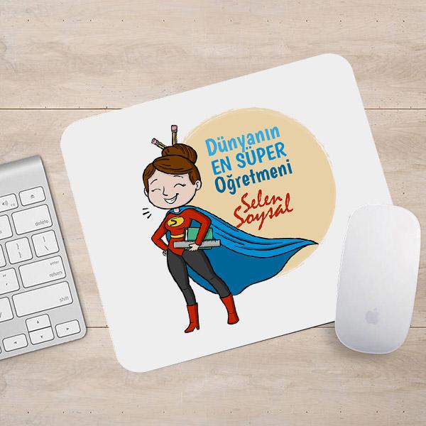En Süper Öğretmen Mousepad
