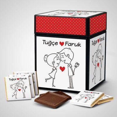 - En Tatlı Aşıklar Çikolata Kutusu