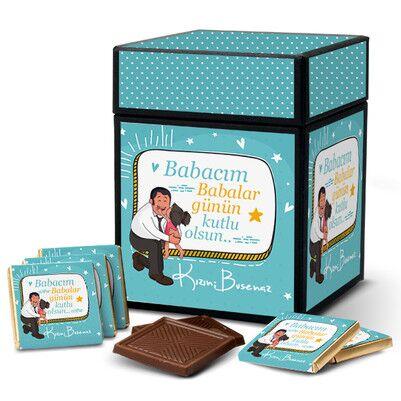 - En Tatlı Baba Hediyelik Çikolata Kutusu