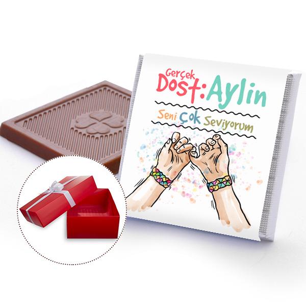 En Yakın Arkadaşa Özel Çikolatalar