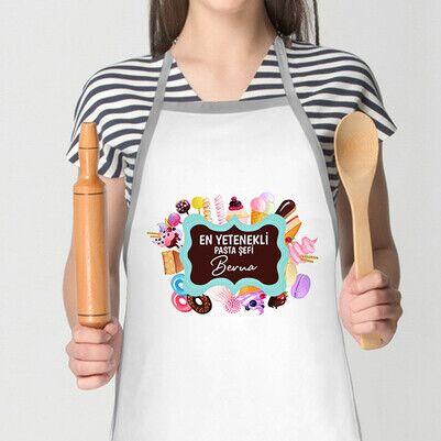 - En Yetenekli Pasta Şefi Mutfak Önlüğü