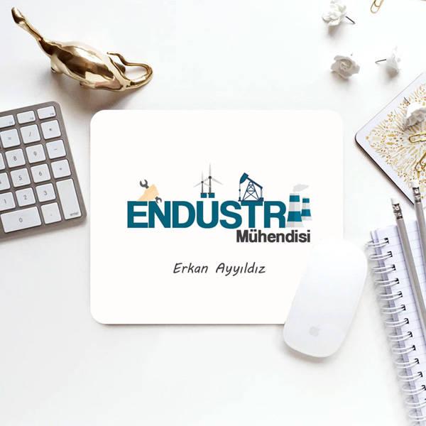 Endüstri Mühendisine Hediye Mouse Pad