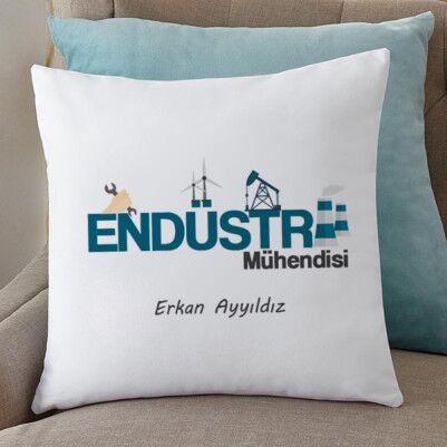 - Endüstri Mühendisine Hediye Yastık