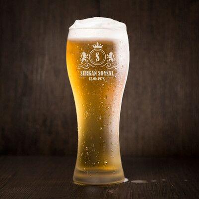 - Erkeğe Doğum Günü Hediyesi Bira Bardağı