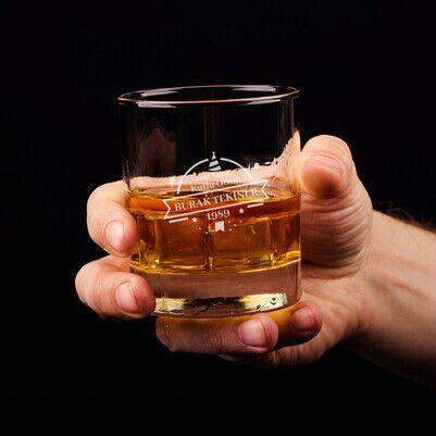 - Erkeğe Doğum Günü Hediyesi Viski Bardağı