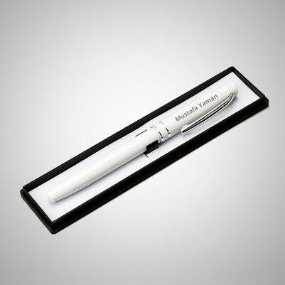- Erkeğe Hediye İsimli Beyaz Kalem
