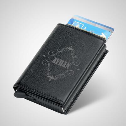 - Erkeğe Hediye İsimli Kredi Kartlık Cüzdan