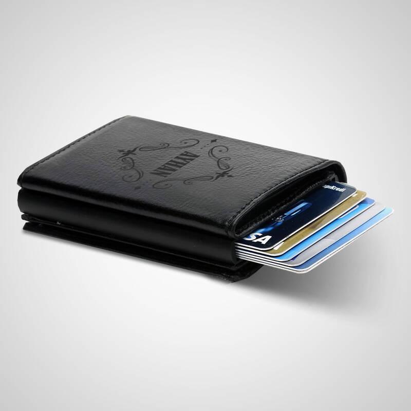 Erkeğe Hediye İsimli Kredi Kartlık Cüzdan