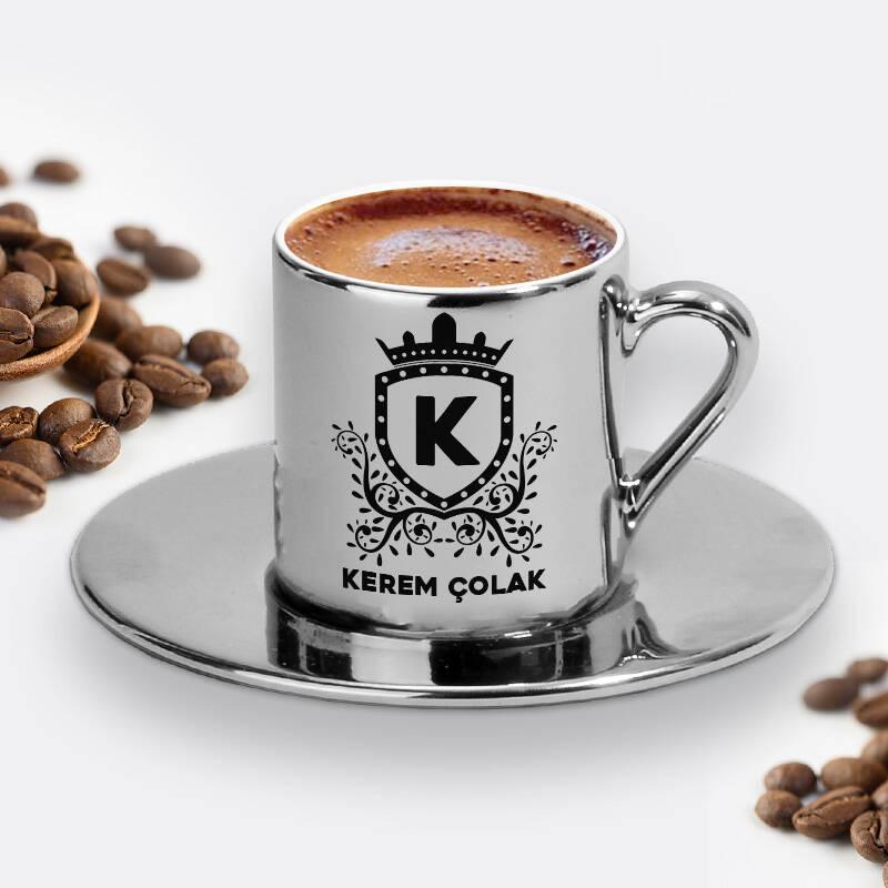 Erkeğe Hediye Silver Kahve Fincanı