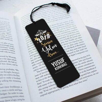 - Erkek Arkadaşa Yılbaşı Temalı Kitap Ayracı