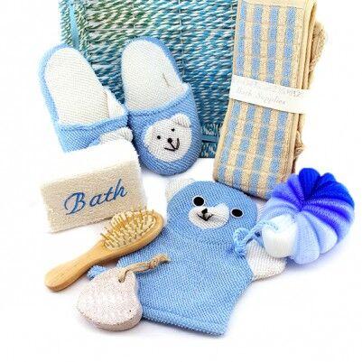 Erkek Bebeğe Özel Banyo Hediye Sepeti - Thumbnail