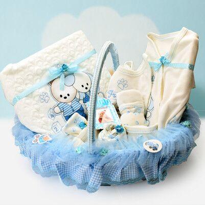 Erkek Bebekler İçin 10'lu Hediye Seti - Thumbnail